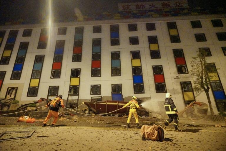 4 killed, 145 missing in Taiwan quake