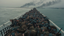 <p> What makes Dunkirk such a great war movie? It's probably the sound. While the pacing is Christopher Nolan at his peak, the acting performances are excellent, and the visual effects superb, it's the sound that really takes your breath away. When all the soldiers are taking cover on the beach, for example, it's an incredible contrast between the chaos of the dropped bombs, and the eerie silence of the troops all standing up and reforming their queues. The spitfire engines? Visceral. The sound of water rushing into various boats as they sink, accompanied by the screams of drowning men? Chilling. Dunkirk isn't a thrilling war movie, or the most didactic, but the way it uses sound (or the notable absence of it) to create the menace and horror of each scene is second to none. </p>