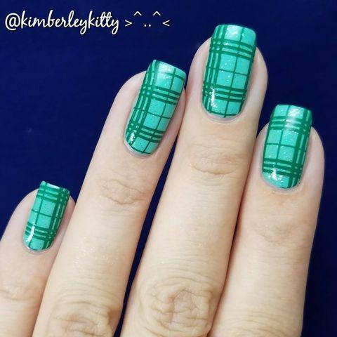 """<p>You'll feel one step closer to spring with these fresh, easy-breezy nails. No leprechauns or clovers are featured here, but everyone will know what you're going for with this plaid design.</p><p><a class=""""link rapid-noclick-resp"""" href=""""https://go.redirectingat.com?id=74968X1596630&url=https%3A%2F%2Fwww.ulta.com%2Fexpressie-quick-dry-nail-polish%3FproductId%3Dpimprod2012771&sref=https%3A%2F%2Fwww.goodhousekeeping.com%2Fbeauty%2Fnails%2Fg26310821%2Fst-patricks-day-nail-designs%2F"""" rel=""""nofollow noopener"""" target=""""_blank"""" data-ylk=""""slk:SHOP MINT GREEN POLISH"""">SHOP MINT GREEN POLISH</a></p><p><strong>RELATED: </strong><a href=""""https://www.goodhousekeeping.com/beauty/nails/g3186/spring-nail-designs/"""" rel=""""nofollow noopener"""" target=""""_blank"""" data-ylk=""""slk:20 Bright And Sunny Spring Nail Designs You'll Love"""" class=""""link rapid-noclick-resp"""">20 Bright And Sunny Spring Nail Designs You'll Love</a></p><p><a href=""""https://www.instagram.com/p/BW2sEZnA7NR/&hidecaption=true"""" rel=""""nofollow noopener"""" target=""""_blank"""" data-ylk=""""slk:See the original post on Instagram"""" class=""""link rapid-noclick-resp"""">See the original post on Instagram</a></p>"""