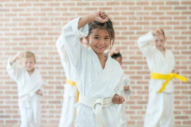 positive effects of martial arts