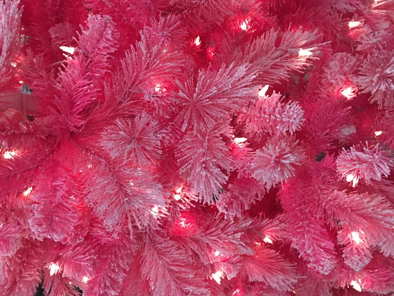 Pink Christmas Trees.The Best Pink Christmas Tree And Affordable Holiday Decor