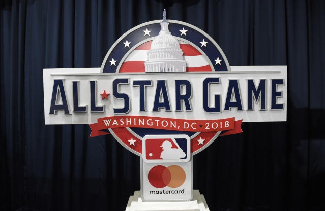 The 2018 MLB All-Star Game will take place at Nationals Park. (AP Photo/Nick Wass)