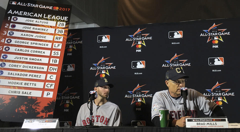 MLB wanted to change the way All-Star voting was done, but the players said no. (AP Photo)