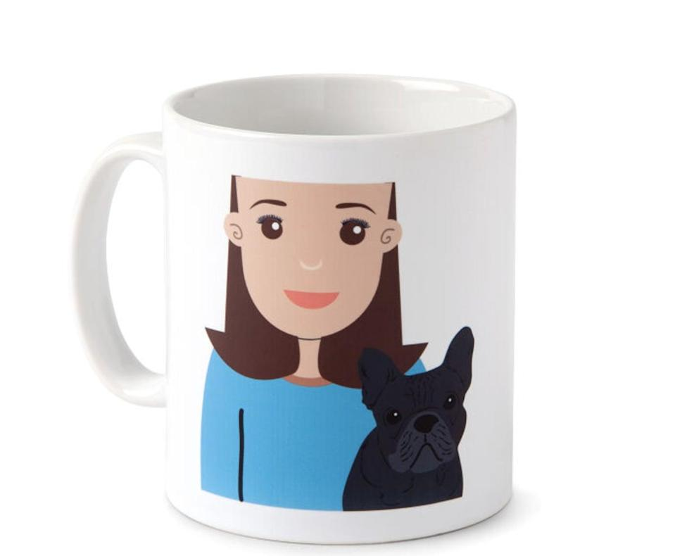 <p>If her puppy is their second BFF, they'll love this <span>Personalized Dog Parent Mug</span> ($50).</p>
