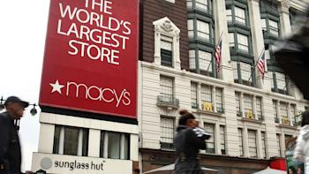Macy's is set up for a successful holiday sales season despite the Q3 numbers they announced today Photo: Getty