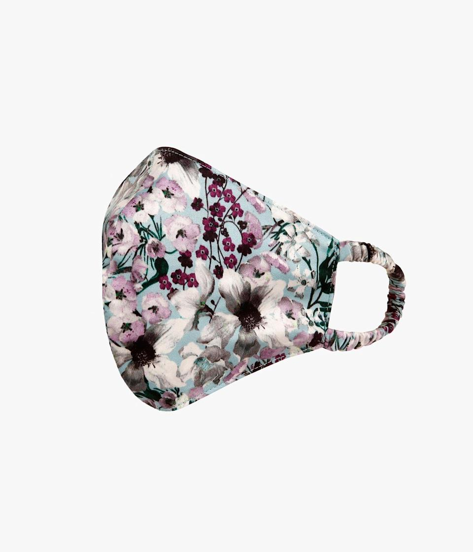 """<p><strong>Erdem </strong></p><p>erdem.com</p><p><strong>$65.00</strong></p><p><a href=""""https://erdem.com/en-us/face-mask-meadow-teal-pf20_1377mptp.html"""" rel=""""nofollow noopener"""" target=""""_blank"""" data-ylk=""""slk:Shop Now"""" class=""""link rapid-noclick-resp"""">Shop Now</a></p><p>Erdem's graphic face masks are made using the leftover fabric from the brand's pre-fall collection with all proceeds made from purchase going directly to the National Emergencies Trust Coronavirus Appeal.</p>"""