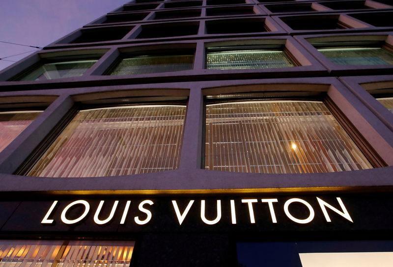 ae2e349a861 FILE PHOTO  A Louis Vuitton logo is pictured in Geneva
