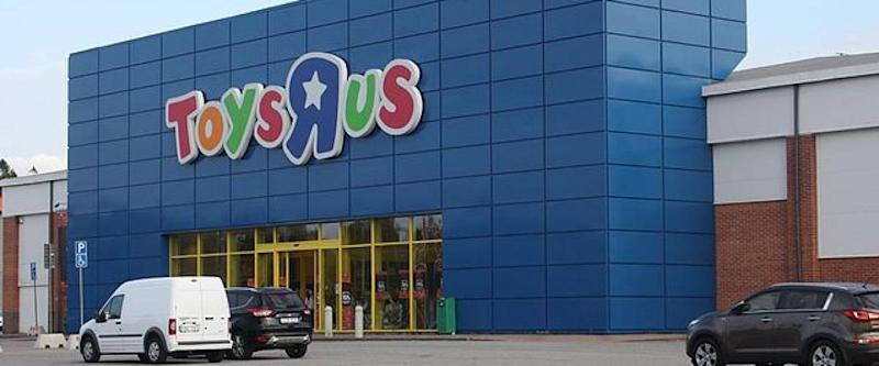 Toys R Us Storefront