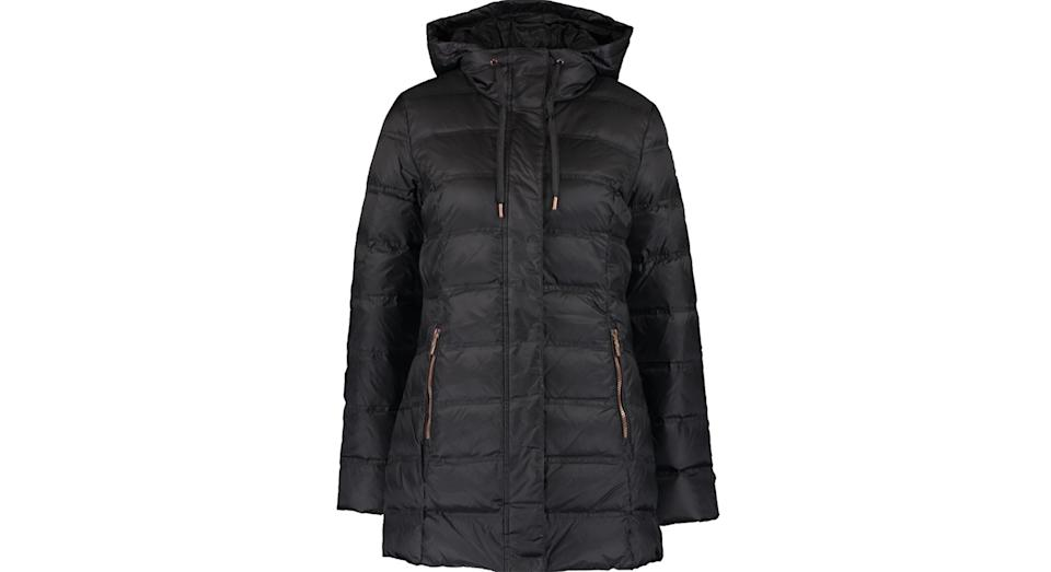 EMPORIO ARMANI Black Padded Jacket