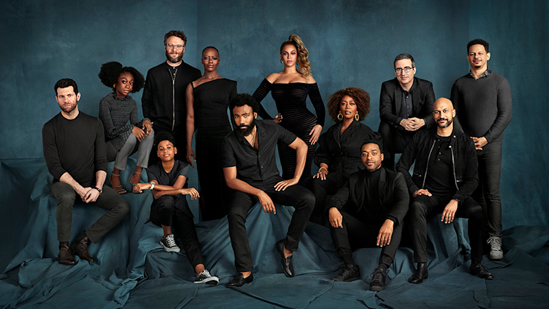 The star-studded cast of The Lion King 2019 remake includes Beyonce Knowles, Donald Glover, Florence Kasumba, Seth Rogen and more