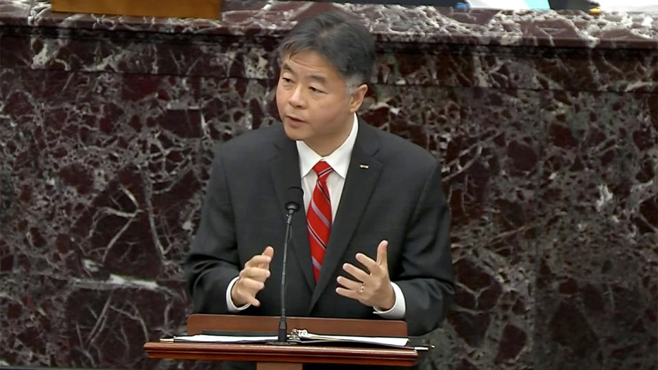 Rep. Ted Lieu. (via Reuters Video)