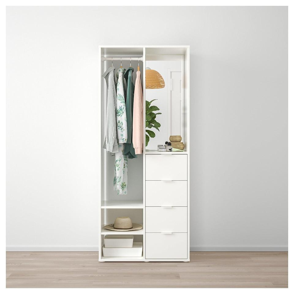 <p>Make life easier by keeping your clothes and accessories in one place with the <span>Sundlandet Open Wardrobe </span> ($199).</p>