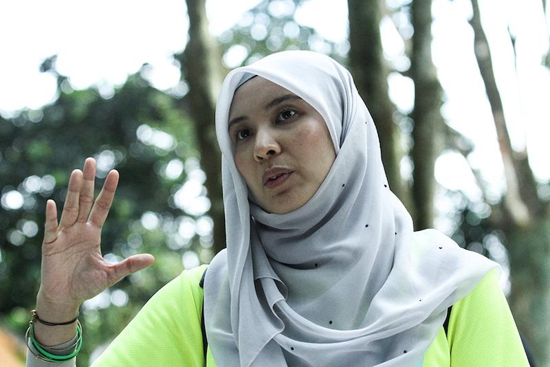 Nurul Izzah said she had been disturbed by the sexist nature of the call. — Picture by Miera Zulyana