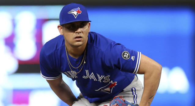 The Astros are understandably catching flack for acquiring Roberto Osuna, who's still serving a 75-game domestic violence suspension. (AP)