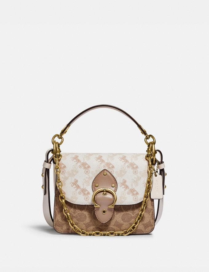Beat Shoulder Bag 18 With Horse And Carriage Print (Photo via Coach)