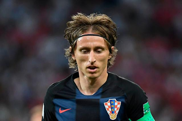 <p>Luka Modric durante Russia-Croazia. / AFP PHOTO / Kirill KUDRYAVTSEV / RESTRICTED TO EDITORIAL USE – NO MOBILE PUSH ALERTS/DOWNLOADS </p>