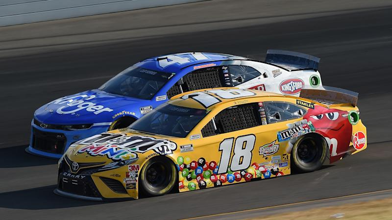 NASCAR at Indianapolis results: Kevin Harvick wins Brickyard 400 after Denny Hamlin crash