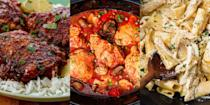 """<p>Let's face it, chicken tastes even better when you don't actually have to cook it (thank you, slow cooker). Especially when it's recipes like <a href=""""https://www.delish.com/uk/cooking/recipes/a37373004/slow-cooker-chicken-casserole/"""" rel=""""nofollow noopener"""" target=""""_blank"""" data-ylk=""""slk:Slow Cooker Chicken Casserole"""" class=""""link rapid-noclick-resp"""">Slow Cooker Chicken Casserole</a>, <a href=""""https://www.delish.com/uk/cooking/recipes/a28996500/slow-cooker-chicken-alfredo-recipe/"""" rel=""""nofollow noopener"""" target=""""_blank"""" data-ylk=""""slk:Slow Cooker Chicken Alfredo"""" class=""""link rapid-noclick-resp"""">Slow Cooker Chicken Alfredo</a> and more. </p>"""