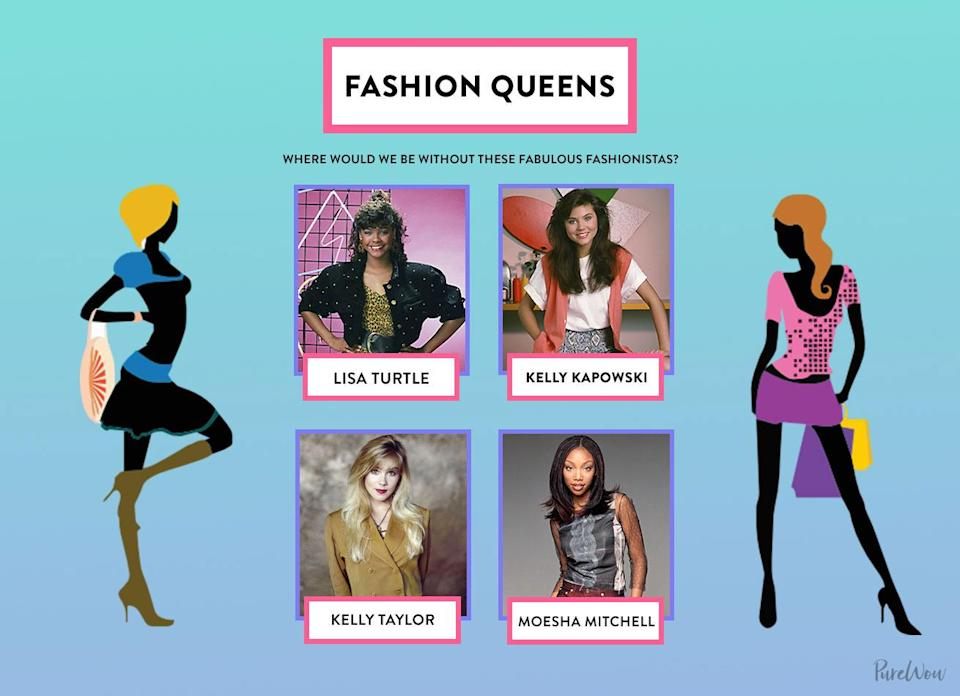<p>From eye-catching prints and denim to chic, fitted dresses, these four ladies gave us the ultimate fashion inspiration (and continue to do so to this day).</p>