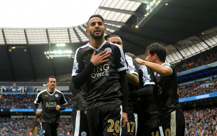 A highlight of last season, Riyad Mahrez's solo effort against Manchester City