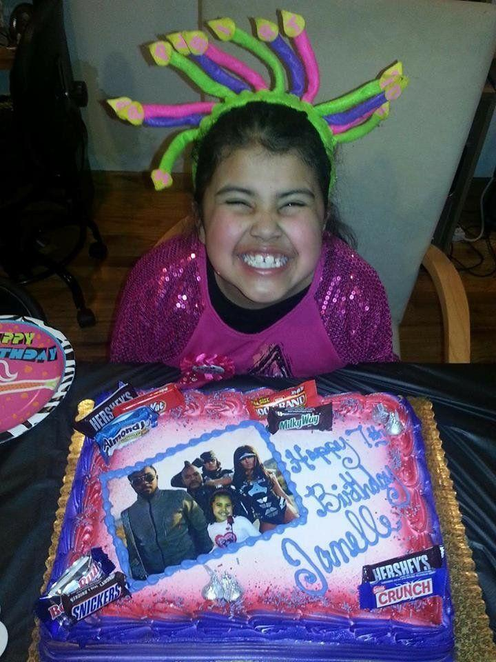 """My then-7-year-old, who is obsessed with the Black Eyed Peas, requested a Black Eyed Peas themed party."" -- Janeth Villasenor-Coria"