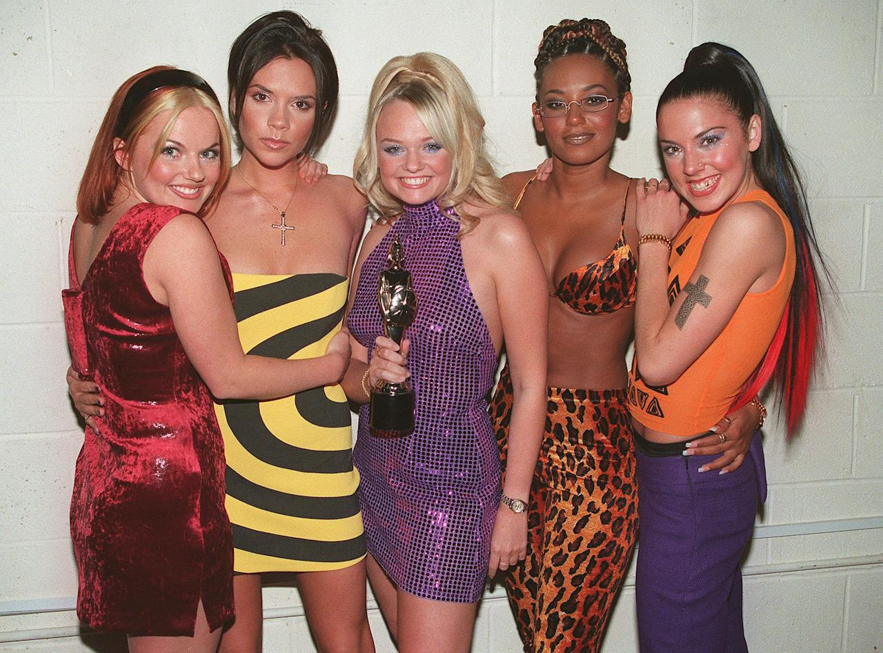 <p>So here's a story from A to Z: <del>You wanna get with me, you gotta listen carefully</del> The Spice Girls dominated '90s fashion. Between their flatform heels, the abundance of spaghetti straps, and literally everything about Posh Spice, the members of this iconic girl group were <em>l-</em><em>e-g-e-n-d-s</em>. Time to check out their most '90s outfits instead of working, lol. </p>