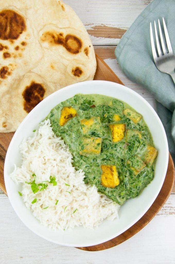 "<p>Get the <a href=""https://www.elephantasticvegan.com/palak-tofu/"" rel=""nofollow noopener"" target=""_blank"" data-ylk=""slk:Palak Tofu Paneer"" class=""link rapid-noclick-resp"">Palak Tofu Paneer</a> recipe.</p><p>Recipe from <a href=""https://www.elephantasticvegan.com/"" rel=""nofollow noopener"" target=""_blank"" data-ylk=""slk:Elephantastic Vegan"" class=""link rapid-noclick-resp"">Elephantastic Vegan</a>.<br></p>"