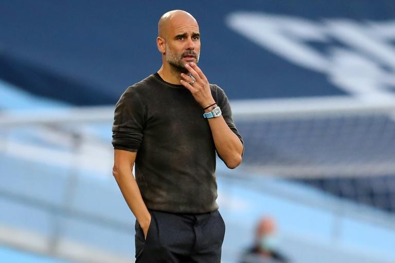 Manchester City manager Pep Guardiola has problems to resolve