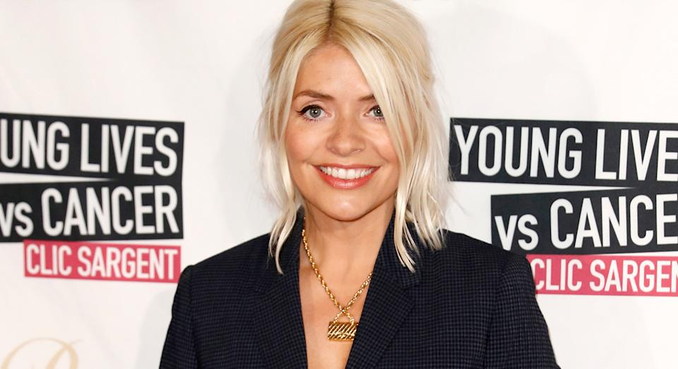 Holly Willoughby reveals M&S' Boyfriend Jeans are her ultimate favourite because they are comfortable and versatile.  (Marks and Spencer)
