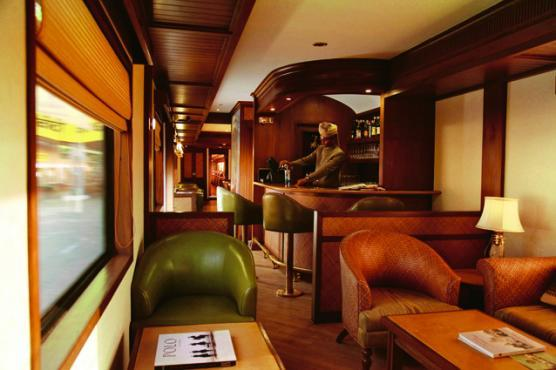 Maharaja Express -  Eat, drink and live like a veritable maharaja as the train forges through some of India's most exotic circuits.