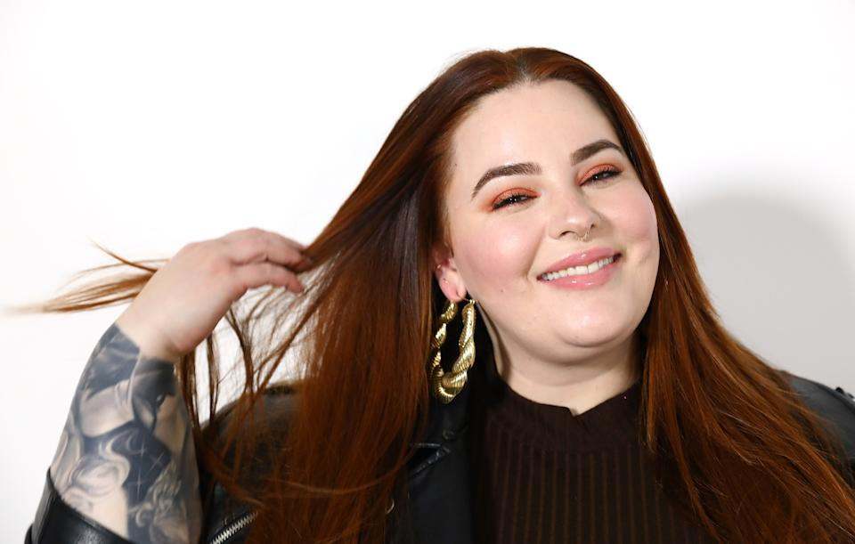 "Tess Holliday says that ""divorce"" is her number one skincare tip. (Photo: Getty Images)"