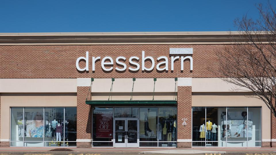Trenton, NJ - April 1, 2019: This Dressbarn store is located at Hamilton Marketplace.
