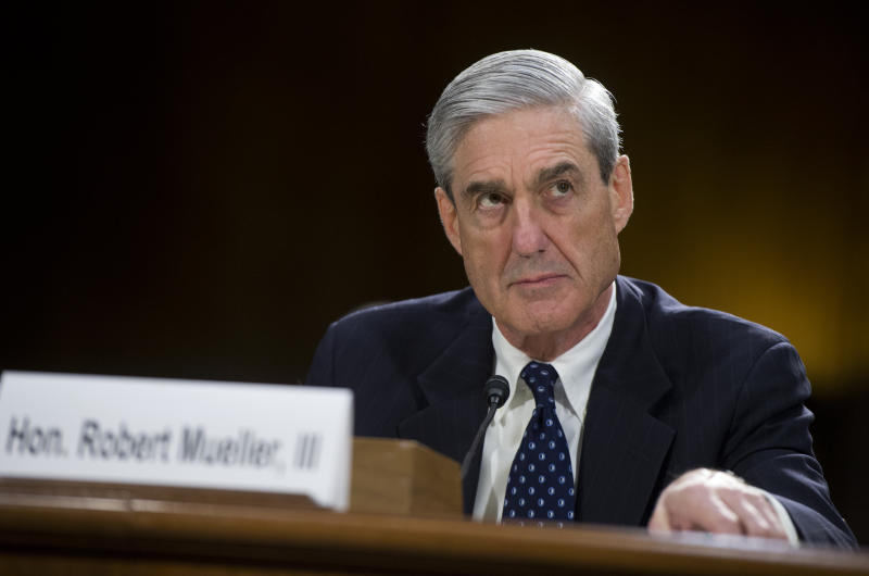 FBI Director Robert Mueller testifies before a Senate Judiciary Committee hearing on oversight of the FBI on June 16, 2013. | Tom Williams—CQ-Roll Call,Inc.