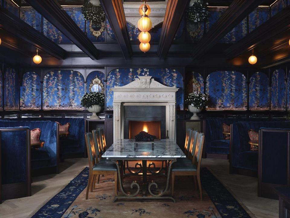 """<p>The interior design world's king and queen of mood Robin Standefer and Stephen Alesch (aka <a href=""""http://www.romanandwilliams.com/"""" rel=""""nofollow noopener"""" target=""""_blank"""" data-ylk=""""slk:Roman and Williams"""" class=""""link rapid-noclick-resp"""">Roman and Williams</a>) have created a new vision of Balvenie-soaked urban decadence in the 91-room <a href=""""https://www.thenomadhotel.com/london/"""" rel=""""nofollow noopener"""" target=""""_blank"""" data-ylk=""""slk:NoMad London"""" class=""""link rapid-noclick-resp"""">NoMad London</a>. Built into an old magistrate's court-slash-police station, it's the first property outside the States for the boutique brand. For the uninitiated, its vaunted sister property in New York City (designed by Jacques Garcia) gave new life to its namesake—a louche stretch of Broadway above Madison Square. </p><p><a class=""""link rapid-noclick-resp"""" href=""""https://go.redirectingat.com?id=74968X1596630&url=https%3A%2F%2Fwww.tripadvisor.com%2FHotel_Review-g186338-d21346666-Reviews-NoMad_London-London_England.html&sref=https%3A%2F%2Fwww.elledecor.com%2Flife-culture%2Fg36802095%2Fbest-new-hotels-in-the-world%2F"""" rel=""""nofollow noopener"""" target=""""_blank"""" data-ylk=""""slk:Book Now"""">Book Now</a></p>"""