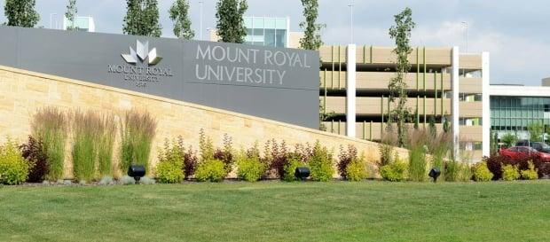 Mount Royal University now requires verification from vaccinated staff, students and visitors at the southwest Calgary campus. (easyuni.com - image credit)