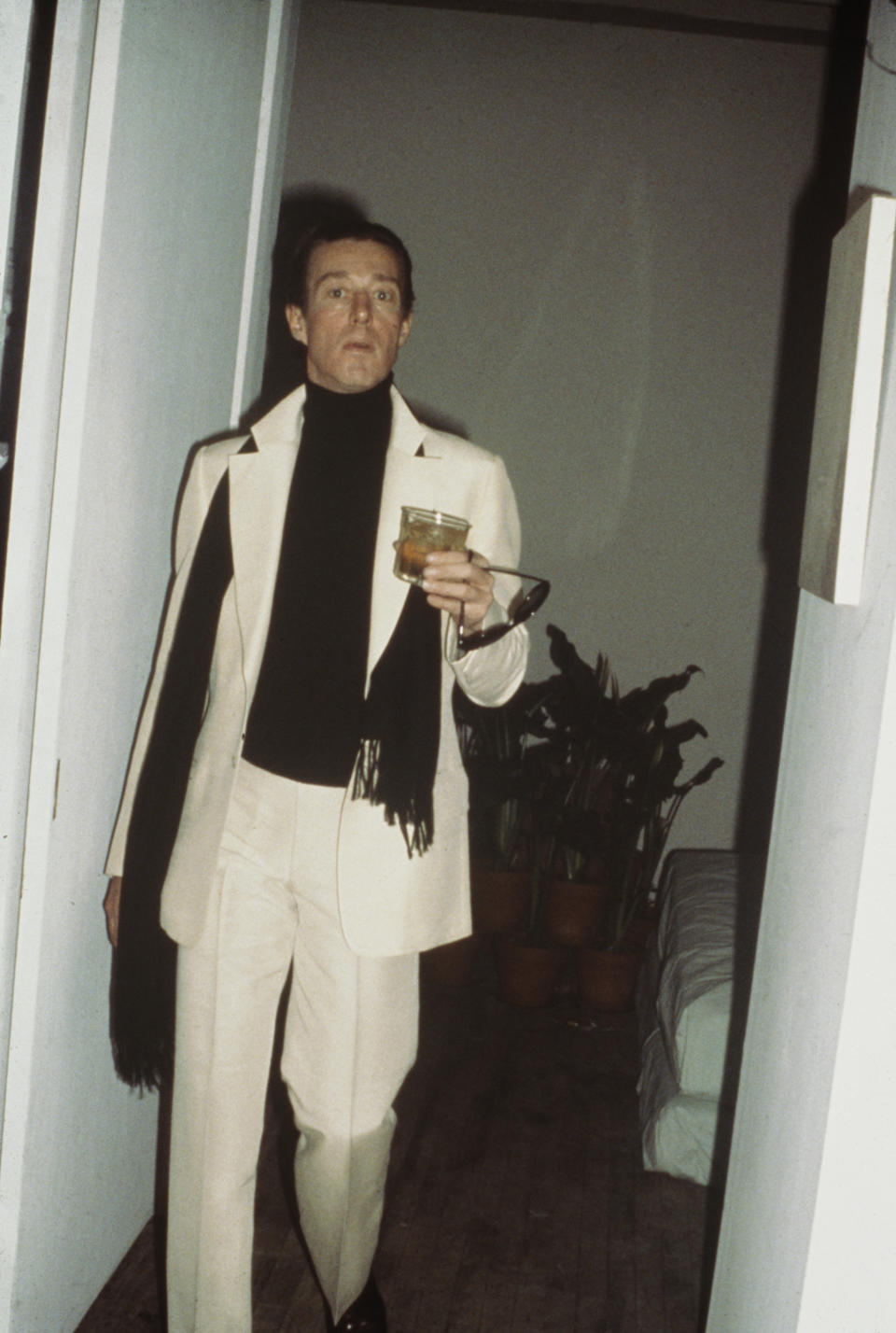 Halston (Roy Halston Frowick) (1932 – 1990), 1979. (Photo by Rose Hartman/Getty Images)