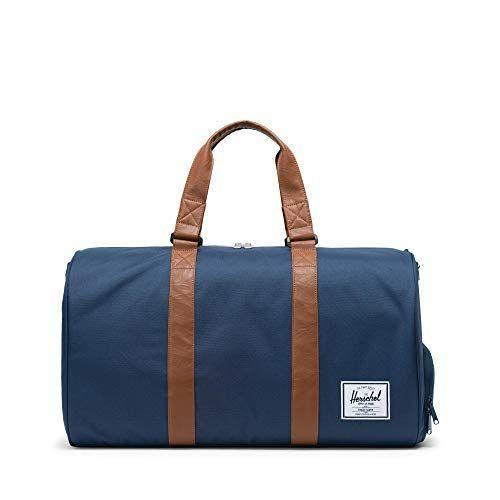 """<p><strong>Herschel</strong></p><p>amazon.com</p><p><strong>$71.95</strong></p><p><a href=""""https://www.amazon.com/dp/B0077CLHGK?tag=syn-yahoo-20&ascsubtag=%5Bartid%7C10050.g.23496922%5Bsrc%7Cyahoo-us"""" rel=""""nofollow noopener"""" target=""""_blank"""" data-ylk=""""slk:Shop Now"""" class=""""link rapid-noclick-resp"""">Shop Now</a></p><p>Dudes love a dope duffel, and Hershel's weekender is both attractive and affordable. This one has a separate shoe compartment for easy packing.</p>"""