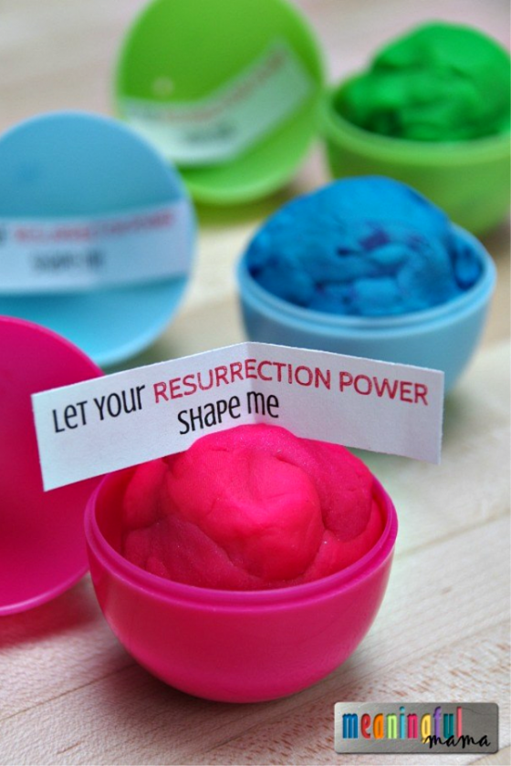 """<p>Every kid loves Play-Doh, so they're bound to love these Easter eggs with a treat and message inside.</p><p><strong>Get the tutorial at <a href=""""https://meaningfulmama.com/play-doh-plastic-easter-egg-filler.html"""" rel=""""nofollow noopener"""" target=""""_blank"""" data-ylk=""""slk:Meaningful Mama"""" class=""""link rapid-noclick-resp"""">Meaningful Mama</a>.</strong></p><p><strong><a class=""""link rapid-noclick-resp"""" href=""""https://www.amazon.com/Play-Doh-Modeling-Compound-Non-Toxic-Exclusive/dp/B00JM5GW10/?tag=syn-yahoo-20&ascsubtag=%5Bartid%7C10050.g.30928377%5Bsrc%7Cyahoo-us"""" rel=""""nofollow noopener"""" target=""""_blank"""" data-ylk=""""slk:SHOP PLAY-DOH"""">SHOP PLAY-DOH</a><br></strong></p>"""