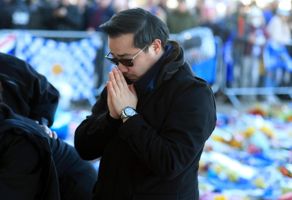 Aiyawatt Srivaddhanaprabha, son of Leicester Chairman Vichai who was among those to have tragically lost their lives on Saturday evening. Mike Egerton/PA Wire