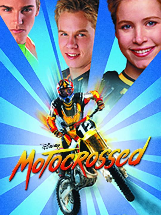 <p><i>Nashville</i>'s Riley Smith stars as a young motocross racer who breaks his leg, which creates a wonderful opportunity for his twin sister to get a unisex haircut and impersonate him in competition. Will their reprehensible, fraudulent schemes prove effective? Why not take a good long look in the mirror before passing judgment.<br><br><i>(Credit: Disney Channel)</i> </p>