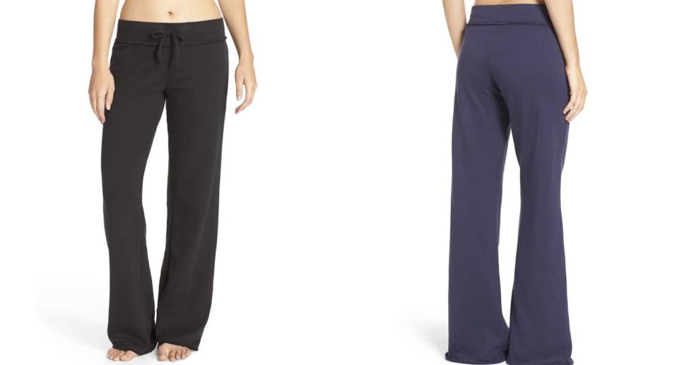 These $39 lounge pants from Nordstrom are literally made for 'lazy mornings' — and they come in two colours.