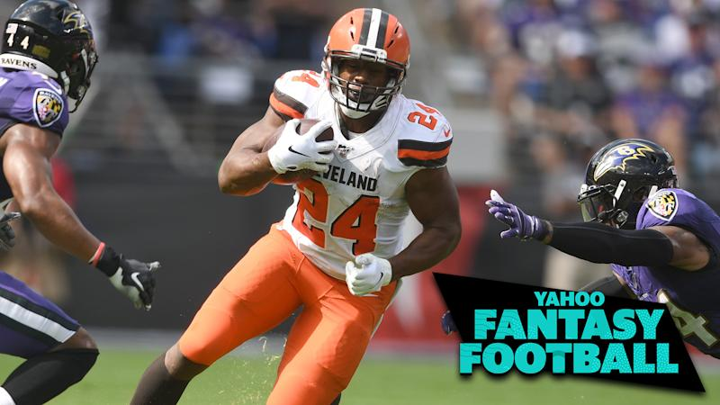 Cleveland Browns RB Nick Chubb had an explosive game against the Baltimore Ravens (Photo Credit: Mitchell Layton-USA TODAY Sports)
