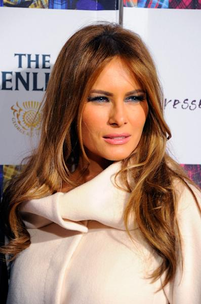 Not only is Melania Trump the only first lady to come from the fashion world, she succeeds one of the most stylish and beloved first ladies of all (AFP Photo/Andrew H. Walker)