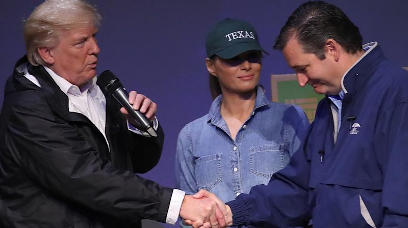 Twitter Users Taunt 'Spineless' Ted Cruz For Bowing To Donald Trump After 2016 Insults