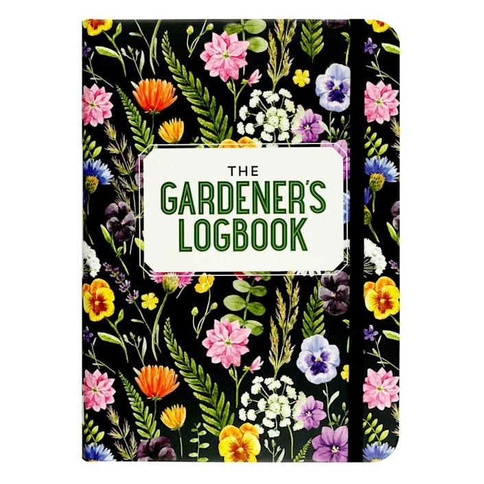 The Gardener's Logbook from Peter Pauper Press.