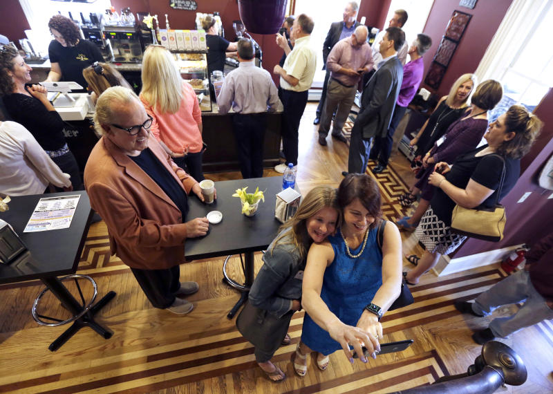Coffee shop serves hope to people recovering from addiction