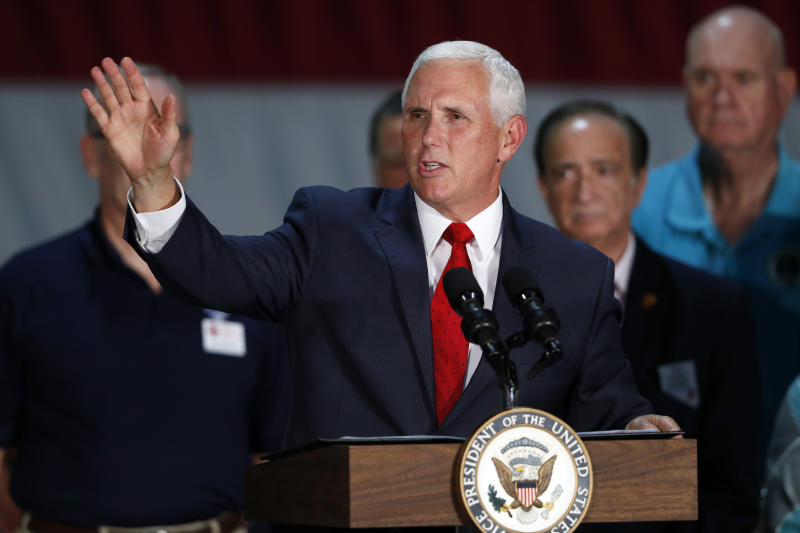 Mike Pence 'confident' no one on his staff wrote anonymous NYT column