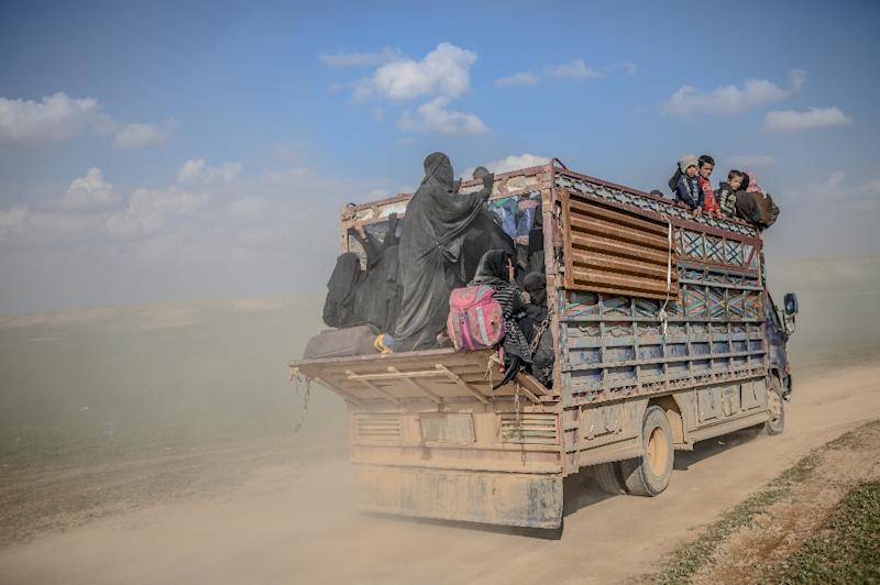 US-backed Syrian forces are preparing for new evacuations of civilians from the last jihadist redoubt in Syria as they press for a final assault to defeating IS (AFP Photo/Bulent KILIC)