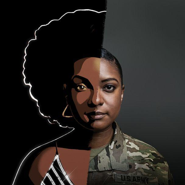 PHOTO: 1Lt. Janeen Phelps, an Army Reservist, who is profiled as part the Army's new 'The Calling' recruiting campaign that tells soldiers personal stories in animated form in an effort to appeal to Generation Z. (US Army)