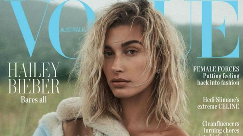 The 22-year-old model opened up in 'Vogue Australia.'